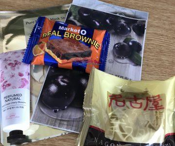 韓国と名古屋のお土産