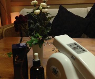 美容液と美容機器