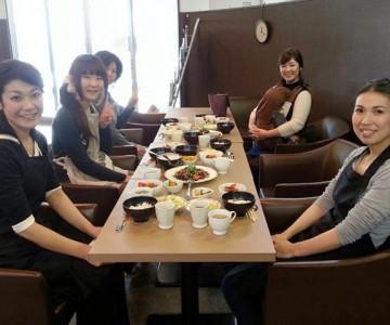 ダイエット道場チャームアップ 料理教室 試食
