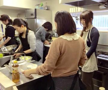 ダイエット道場チャームアップ 料理教室 調理実習
