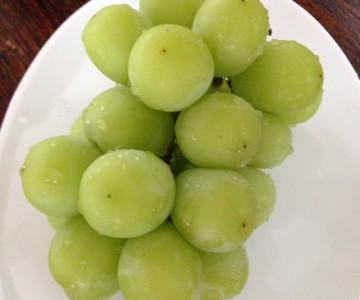 美肌の果物マスカット